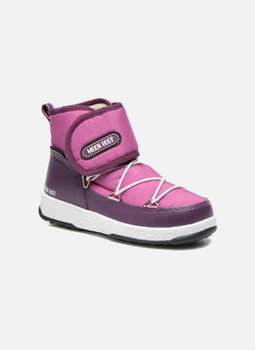 Stiefeletten & Boots Moon Boot Moon Boot Jr Strap lila detaillierte ansicht/modell