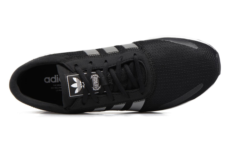 Baskets Adidas Originals Los Angeles Noir vue gauche