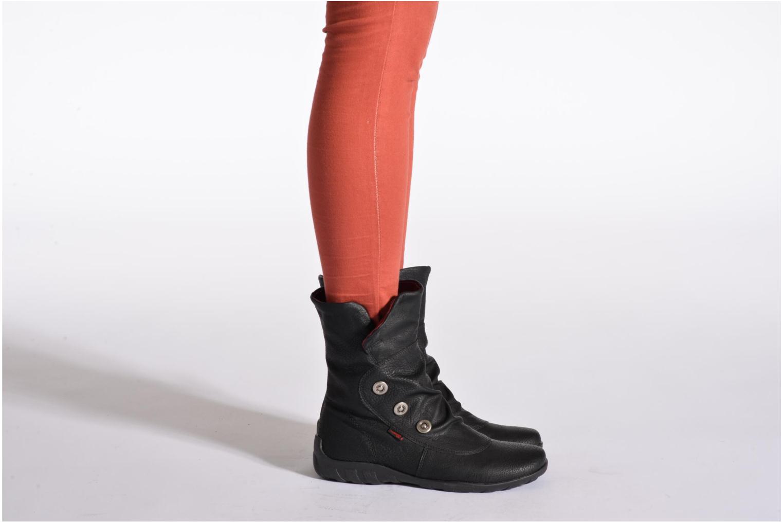 Bottines et boots Remonte Maeta R3479 Noir vue bas / vue portée sac