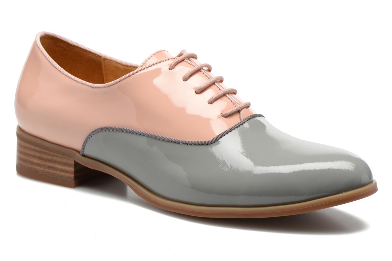 Chaussures à lacets Shoe the bear Gigi Rose vue détail/paire