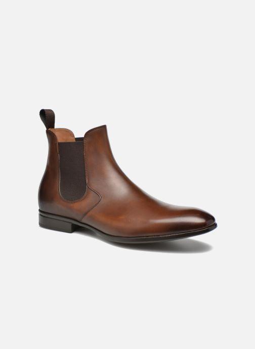 Bottines et boots Doucal's OMAR Marron vue détail/paire
