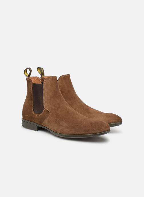 Ankle boots Doucal's OMAR Brown 3/4 view