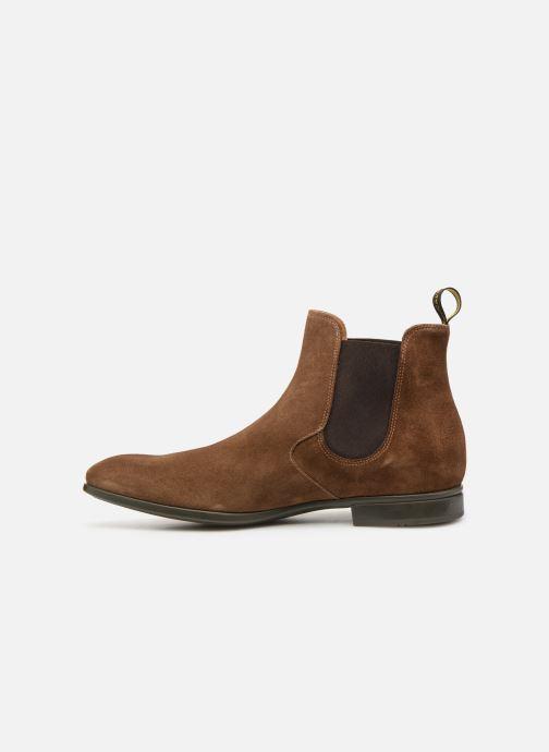 Boots en enkellaarsjes Doucal's OMAR Bruin voorkant