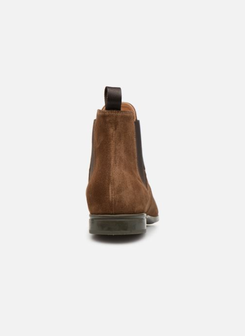 Ankle boots Doucal's OMAR Brown view from the right