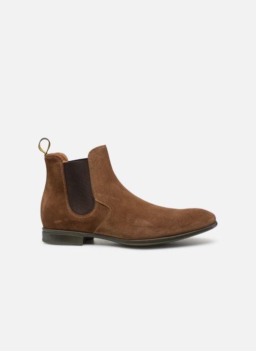 Boots en enkellaarsjes Doucal's OMAR Bruin achterkant