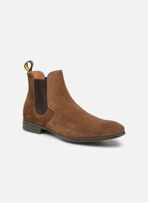 Ankle boots Doucal's OMAR Brown detailed view/ Pair view
