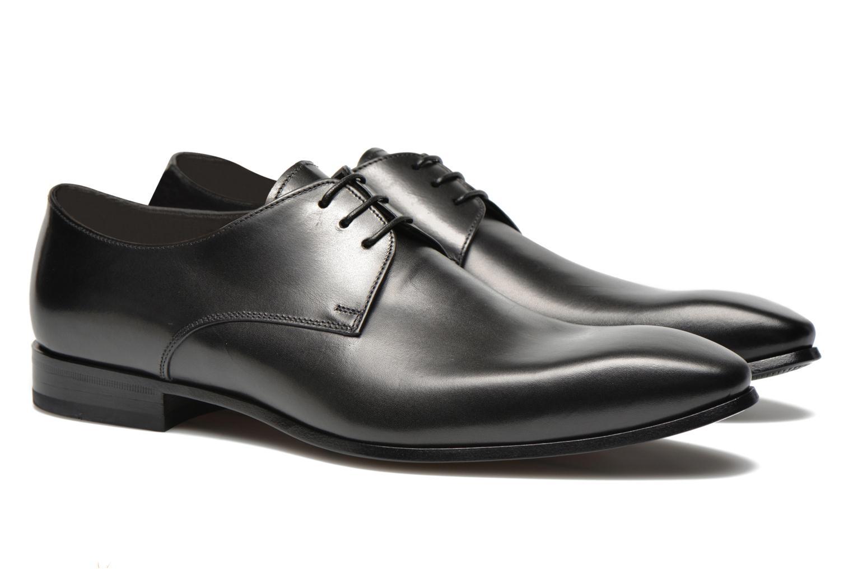 Chaussures à lacets Doucal's NICO LOW Noir vue 3/4