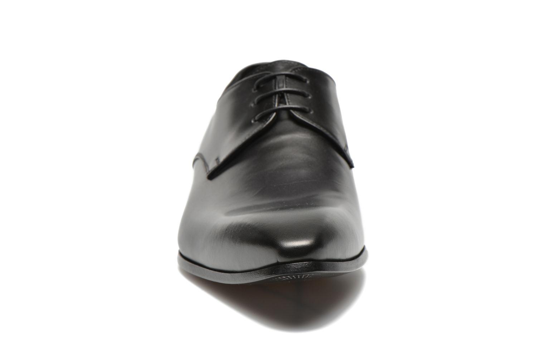 Chaussures à lacets Doucal's NICO LOW Noir vue portées chaussures