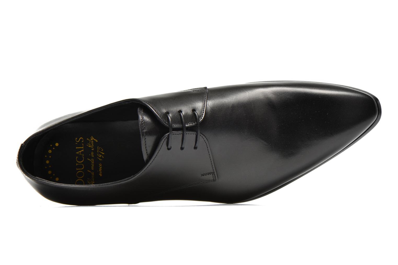 Chaussures à lacets Doucal's NICO LOW Noir vue gauche