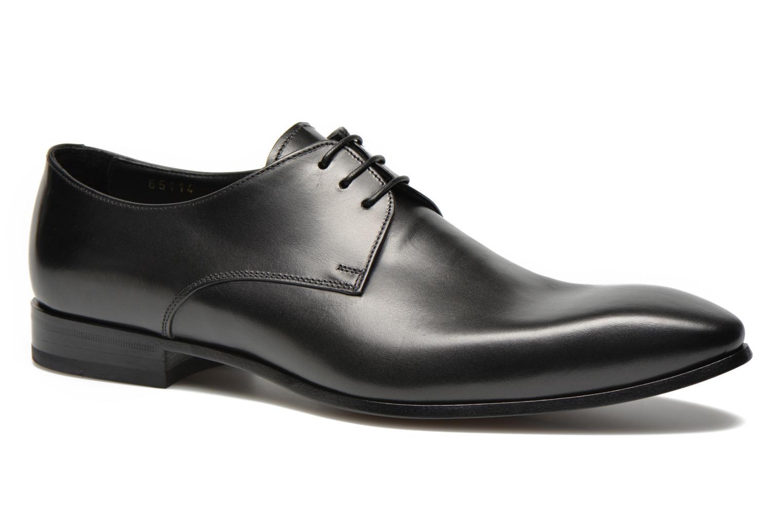 Chaussures à lacets Doucal's NICO LOW Noir vue détail/paire