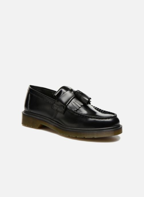 Loafers DR. Martens Adrian Black detailed view/ Pair view
