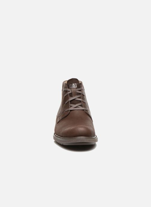 Bottines et boots Caterpillar Brock Marron vue portées chaussures