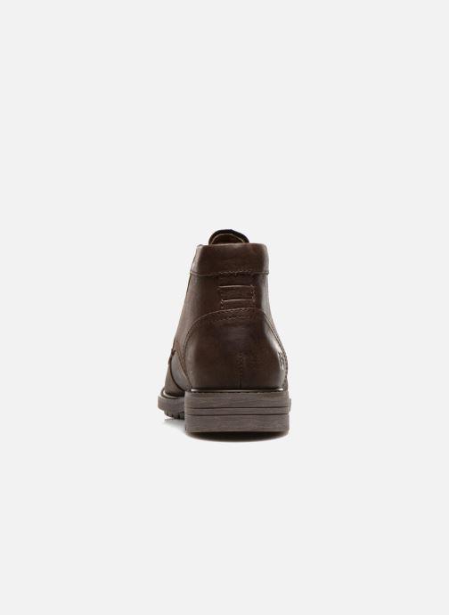 Bottines et boots Caterpillar Brock Marron vue droite