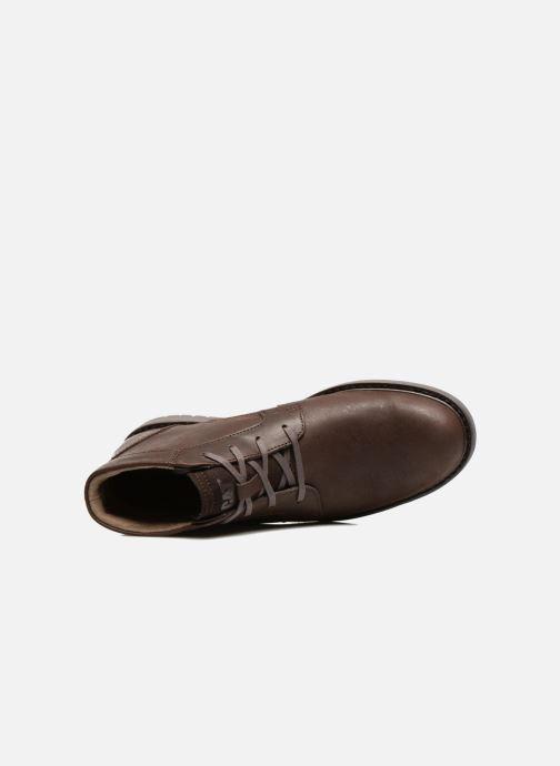 Bottines et boots Caterpillar Brock Marron vue gauche