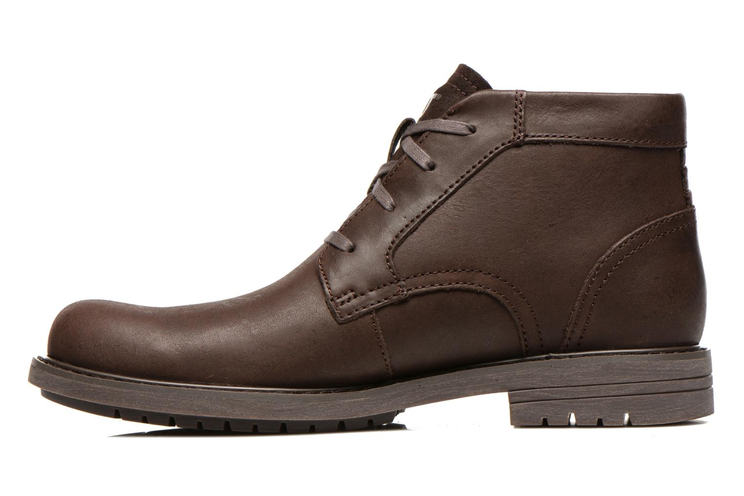 Ankle boots Caterpillar Brock Brown front view