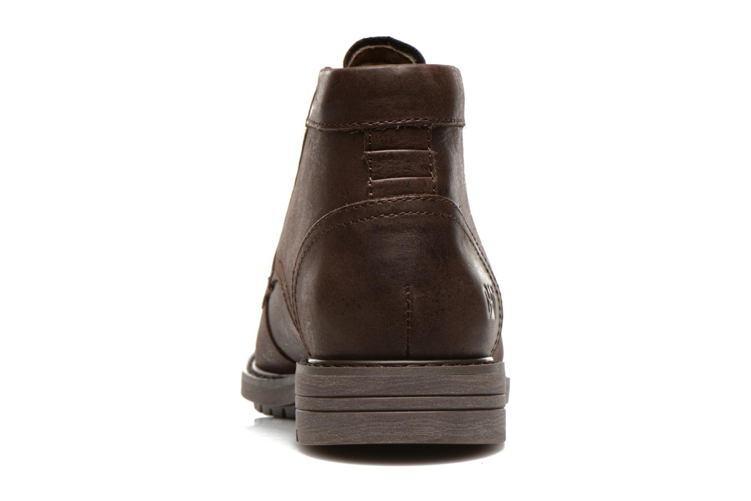 Ankle boots Caterpillar Brock Brown view from the right