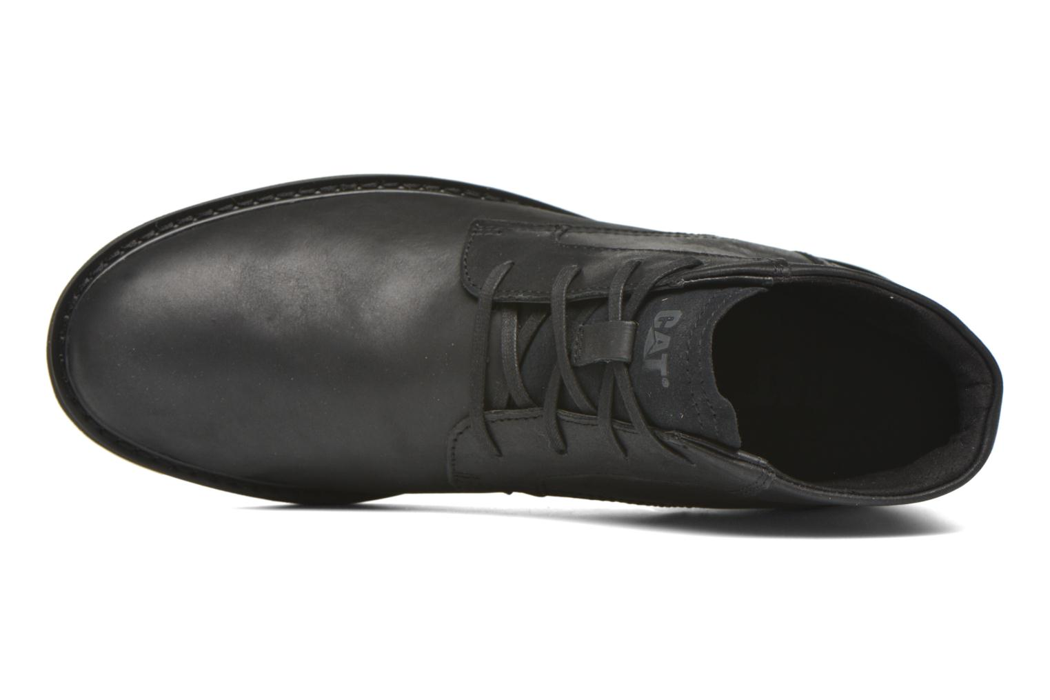 Ankle boots Caterpillar Brock Black view from the left