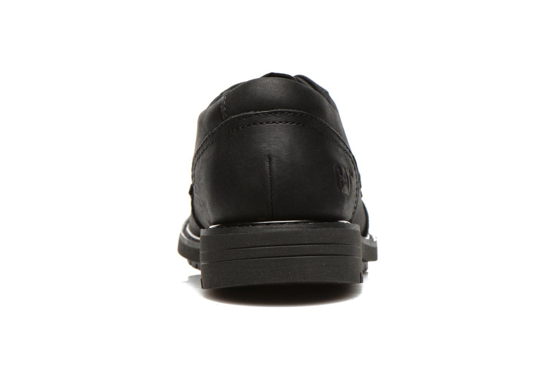 Chaussures à lacets Caterpillar Cason Noir vue droite