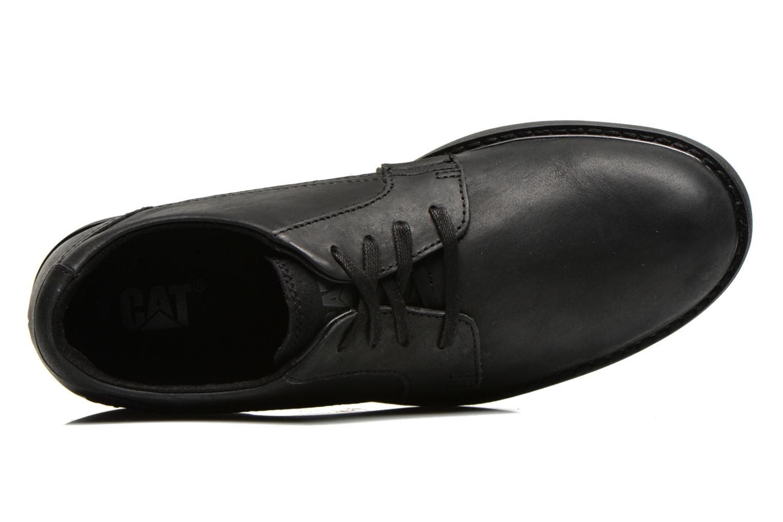 Chaussures à lacets Caterpillar Cason Noir vue gauche