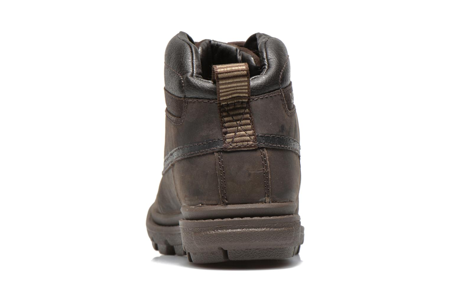 Ankle boots Caterpillar Grady WP Brown view from the right