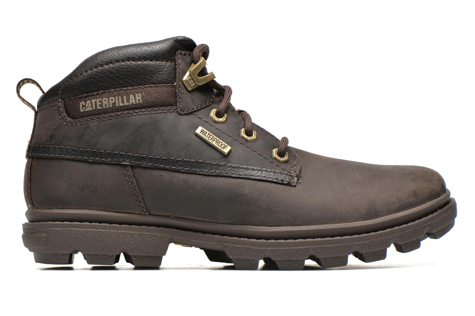 Ankle boots Caterpillar Grady WP Brown back view