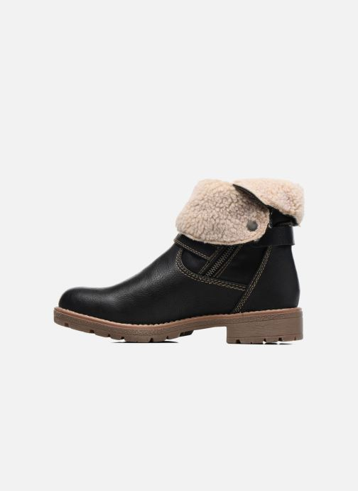 Boots en enkellaarsjes Tom Tailor Victoria Zwart voorkant