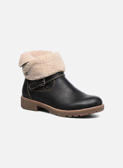 Boots en enkellaarsjes Tom Tailor Victoria Zwart detail