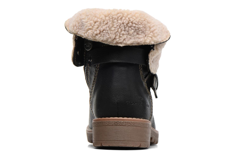 Bottines et boots Tom Tailor Victoria Noir vue droite