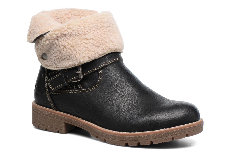 Bottines et boots Tom Tailor Victoria Noir vue détail/paire