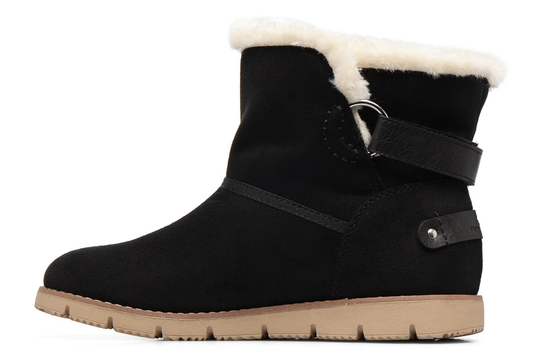 Bottines et boots Tom Tailor Ivoire Noir vue face
