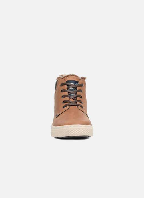Trainers Tom Tailor Olive Brown model view