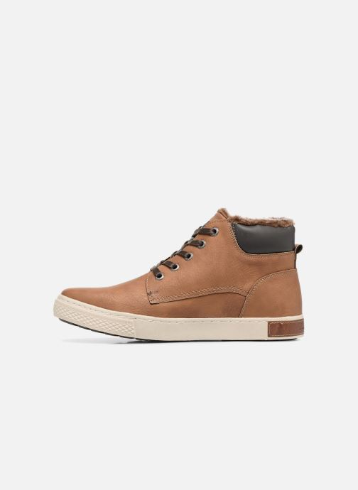 Trainers Tom Tailor Olive Brown front view