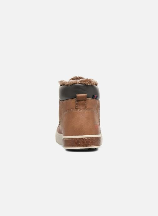 Trainers Tom Tailor Olive Brown view from the right