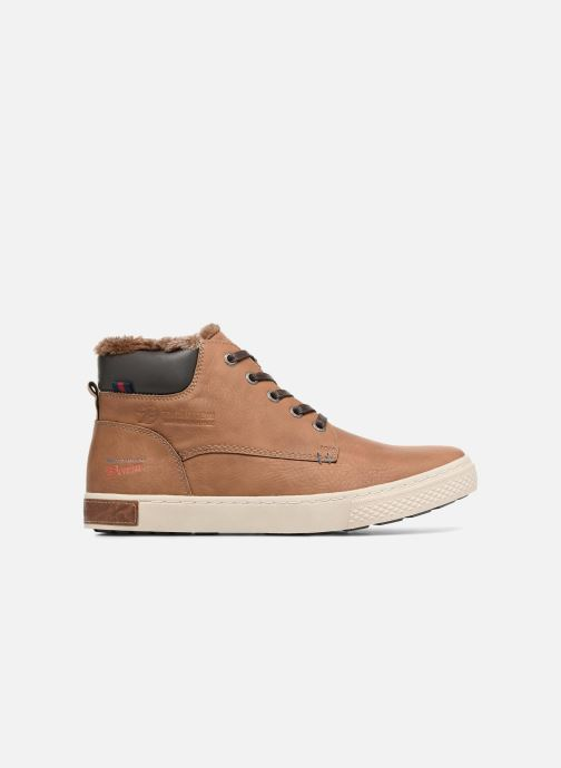 Trainers Tom Tailor Olive Brown back view