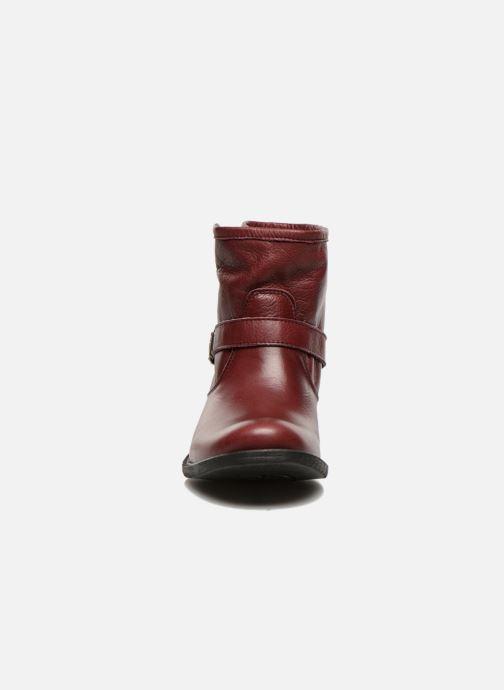 Bottines et boots Sweet Lemon L.5.Elle Bordeaux vue portées chaussures