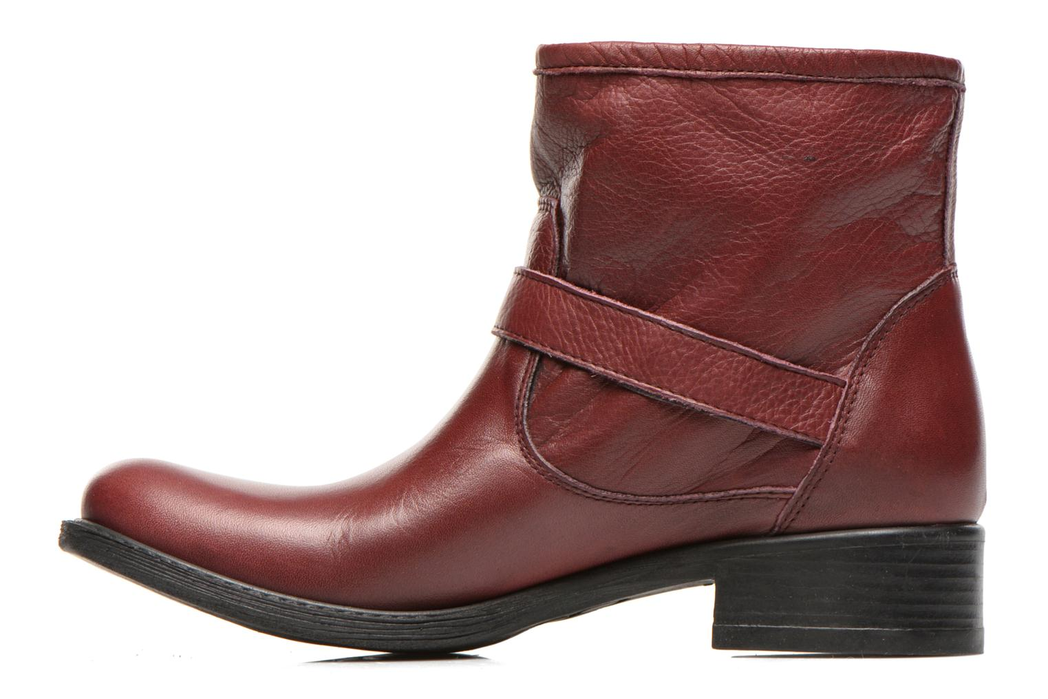 Bottines et boots Sweet Lemon L.5.Elle Bordeaux vue face