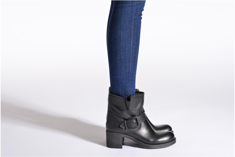 Bottines et boots Sweet Lemon L.5.Esta Noir vue bas / vue portée sac