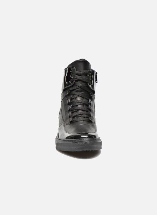 Baskets Sweet Lemon L.4.Paix Noir vue portées chaussures