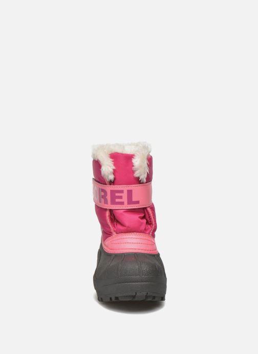 Støvler & gummistøvler Sorel Snow Commander Pink se skoene på