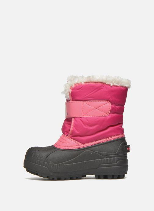 Støvler & gummistøvler Sorel Snow Commander Pink se forfra