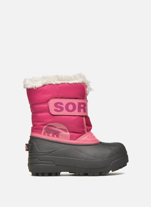 Støvler & gummistøvler Sorel Snow Commander Pink se bagfra