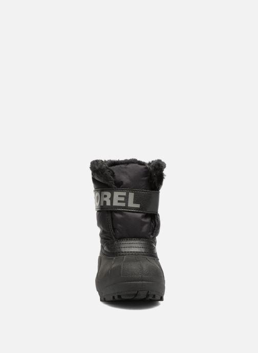 Bottes Sorel Snow Commander Noir vue portées chaussures