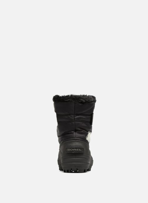 Botas Sorel Snow Commander Negro vista lateral derecha