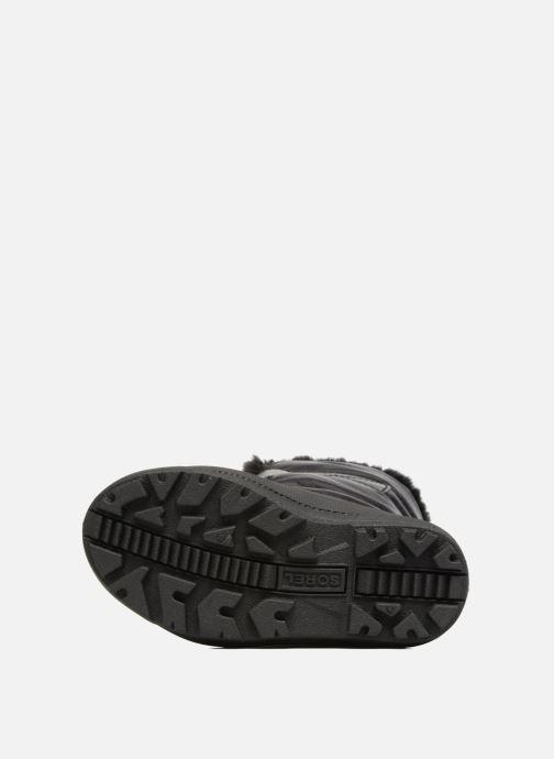 Stiefel Sorel Snow Commander schwarz ansicht von oben