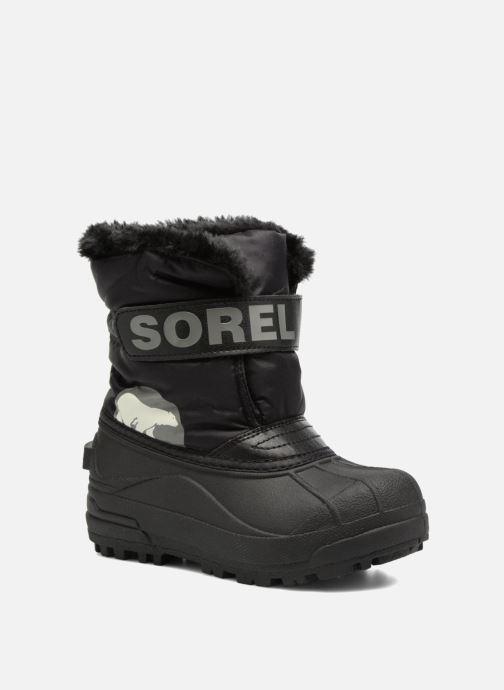 Bottes Sorel Snow Commander Noir vue détail/paire
