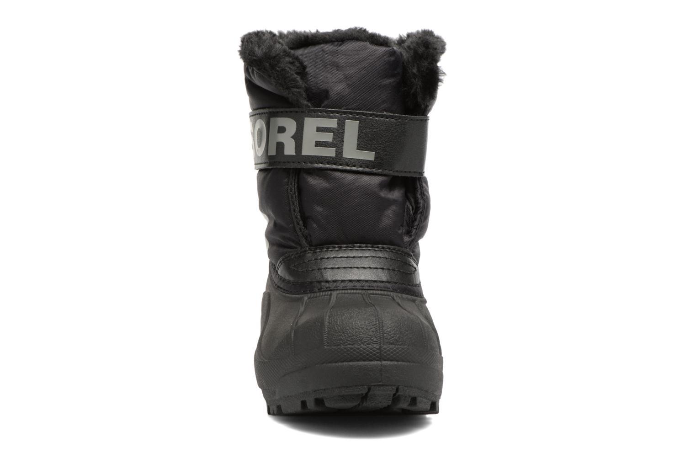 Stiefel Sorel Snow Commander schwarz schuhe getragen