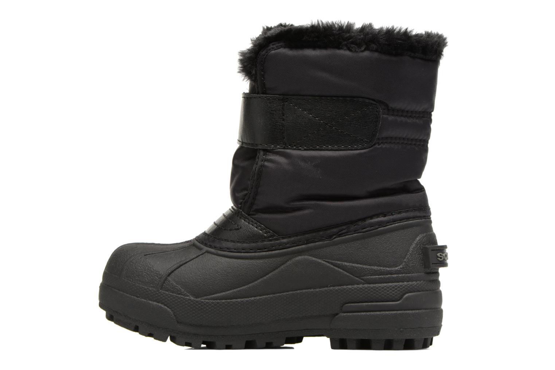Stiefel Sorel Snow Commander schwarz ansicht von vorne
