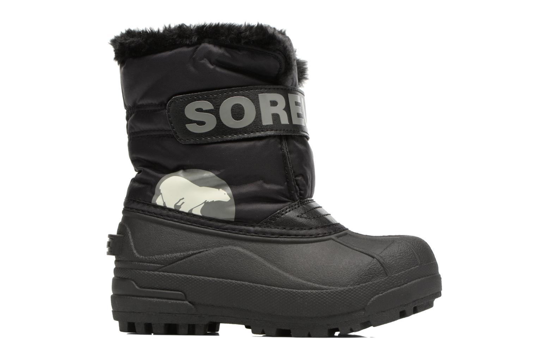 Stiefel Sorel Snow Commander schwarz ansicht von hinten