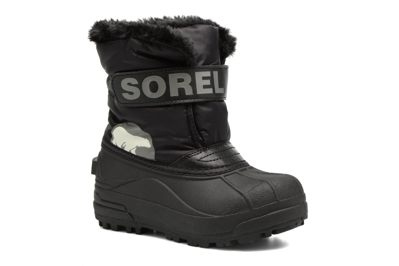 Stiefel Sorel Snow Commander schwarz detaillierte ansicht/modell