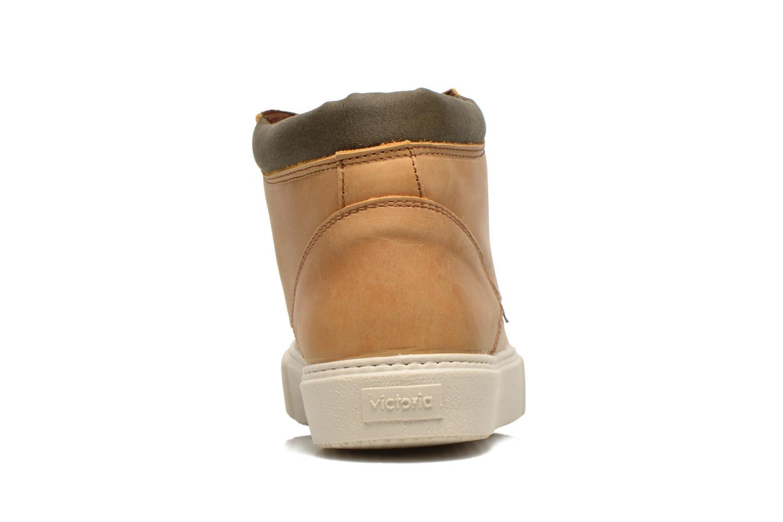 Chaussures à lacets Victoria Bota Piel Cuello Marron vue droite